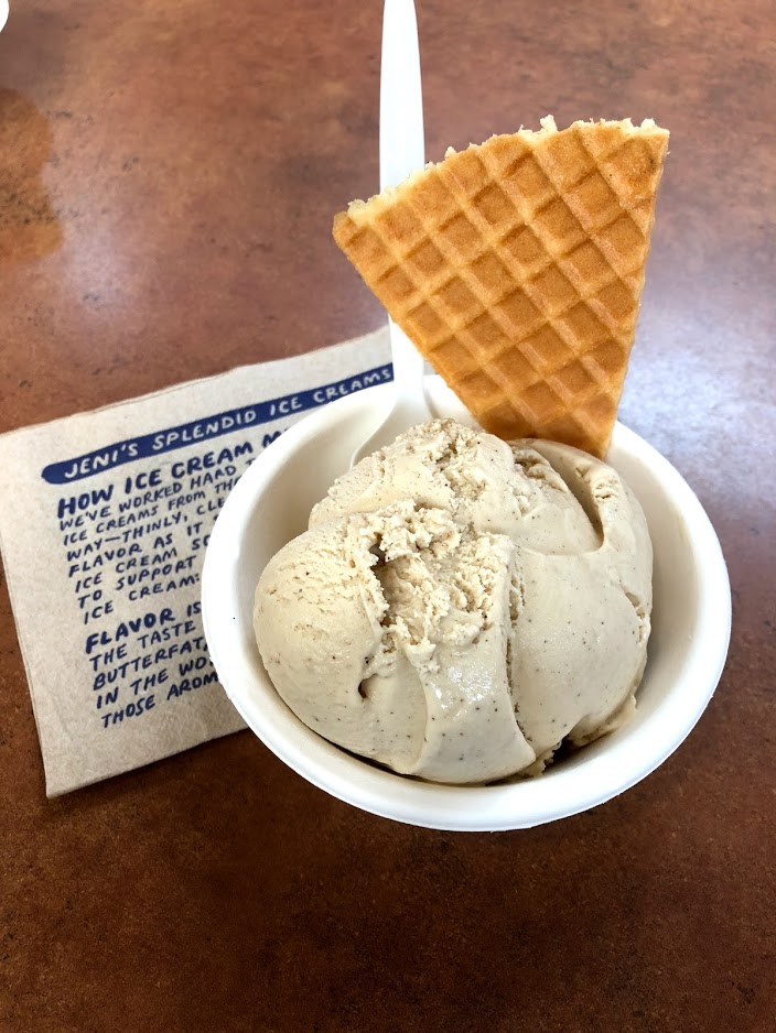 Ice cream scoop and waffle cone